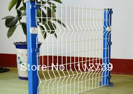 Pvc Coated Wire Mesh Fence Blue Peach Post And White Fence Panel Bright Color Peach Post Fence Manufacture Post Livefence Plants Aliexpress