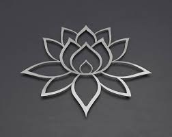 lotus flower metal wall art lotus metal