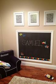 Diy Magnetic Chalkboard Wall The Culinary Couple Diy Playroom Chalkboard Wall Kids Magnetic Chalkboard Wall