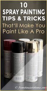 10 Spray Painting Tips and Tricks For Creating A Smooth Finish 10 ...