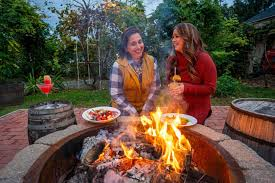 long island restaurants with fire pits