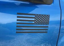 American Flag Black Car And Truck Decals And Stickers For Sale Ebay