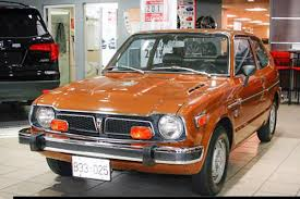 1975 honda civic showroom special