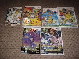 Every Japanese Pokemon Nintendo Wii Game by EdensElite on DeviantArt