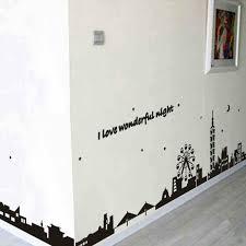Diy Black Wallpaper Baseboard Kicking Line Wall Sticker Removable Decal Bedroom Ebay