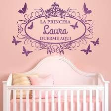 Kids Wall Sticker Princess Sleeps Here Muraldecal Com