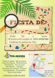 Celebraciones De Cumpleanos En El Toyo Almeria Pita Aventura Com