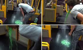 YouTuber Adrian Van Oyen chugs green milk before 'vomiting' on ...