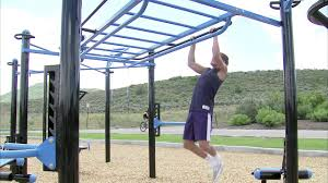 monkey bars on the movestrong outdoor