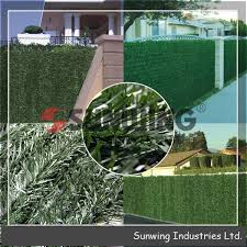 China Outdoor Decorative Artificial Boxwood Hedges Fence China Garden Fence And Artificial Plant Price