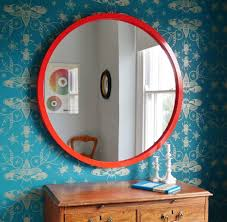 extra large round mirrors marcel