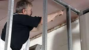 metal stud framing drywall