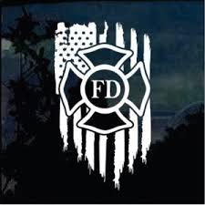 Firefighter Decals Custom Sticker Shop