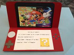 Mario Bros Invitation Invitaciones De Mario Bros Fiesta De Mario
