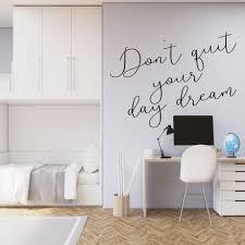 Never Stop Dreaming Wall Decal Vinyl Decor Wall Decal Customvinyldecor Com