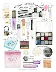 my video makeup essentials