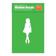 Irish Dancer Female Car Window Decal White Walmart Com Walmart Com