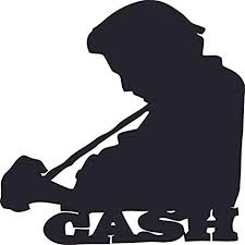 Amazon Com Johnny Cash Guitar Country Music Wall Decals Cowboy Cowgirl Cowboy Boots Fun Music Festival Concert Designs For Cars Rooms Windows Bedroom Wall Art Decor Vinyl Stickers Size 20x20 Inch Arts Crafts Sewing