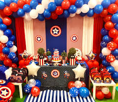 Ideas Para Fiestas De Capitan America