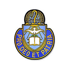 Army Chaplain Corps Insignia Shaped Sticker Decal Logo Decal Size 3 X 4 Inch Walmart Com Walmart Com