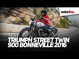 triumph street twin 900 bonneville