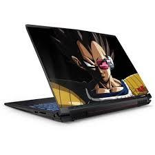 Vegeta Portrait Gp62x Leopard Gaming Laptop Skin Anime