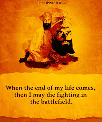 teachings by guru gobind singh that tell us how to live our lives