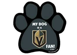 Vegas Golden Knights Paw Car Magnet Nhl Clearance Vegasgoldenknights Vegas Golden Knights Golden Knights Car Magnets
