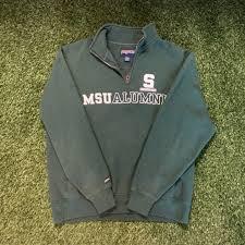 Jansport Shirts Michigan State Spartans Msu Alumni 14 Zip Poshmark