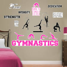 Fathead Gymnastics Peel And Stick Wall Decal Wayfair