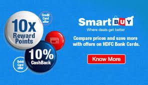 hdfc bank offering 10x smart reward