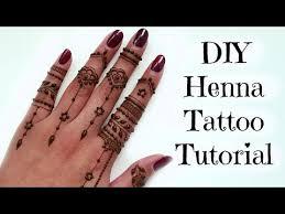 diy easy henna tattoo tutorial tips