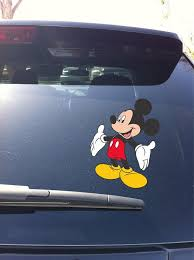02 07 Mickey Mouse Car Window Vinyl Decal Sticker Disney Devious Decals And Apparel