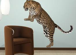 Cheetah Print Wall Decals Leopard Stickers Vinyl Wall Decals Super Independence