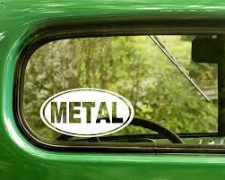 Metal Music Decal Sticker The Sticker And Decal Mafia