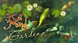 koi pond garden 3d live wallpaper and