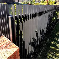 China Design Vertical Powder Coated Diy Slats Picket Fence Outdoor Decorative Aluminum Metal Garden 3d Blade Radiator Photos Pictures Made In China Com