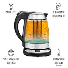 chefman electric glass digital tea