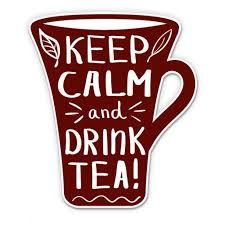 Keep Calm Drink Tea Vinyl Sticker Waterproof Decal Sticker 5 Walmart Com Walmart Com