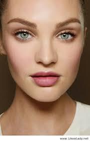 natural makeup tutorial blue eyes
