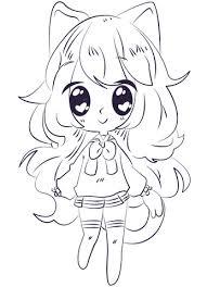 Anime En Manga Kleurplaten Gratis Printbare Kleurplaten