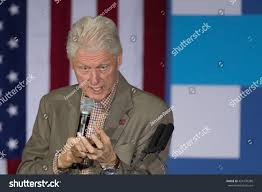 President Bill Clinton Campaigns Hillary May Stock Photo (Edit Now)  424170280