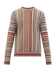 Signature Stripe jacquard wool sweater | Paul Smith | MATCHESFASHION AU