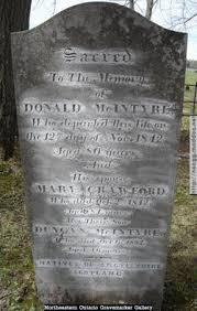 Duncan McINTYRE (1806-1852) - Find A Grave Memorial