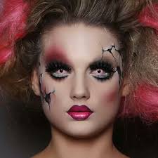 makeup ideas scary doll