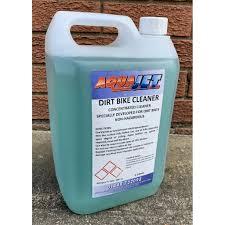 dirt bike cleaner 5l aquajet cleaning