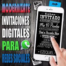 Invitacion Digital 147 Cumpleanos Mis 18 Cumple 30 99