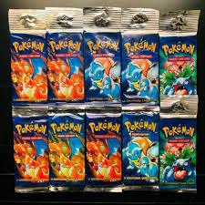 1 Venasaur Pokemon Base Set Unlimited Booster Pack Factory Sealed ...