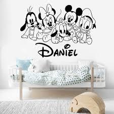 Reusable Kawaii Cartoon Dinosaur Diy Wall Sticker W Sleeping Quote For Bedroom Home Garden Children S Bedroom Boy Decor Decals Stickers Vinyl Art