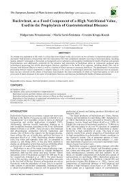 pdf buckwheat as a food ponent of